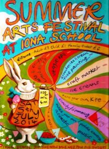 Summer Arts Festival poster 2014