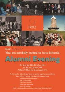 Alumni evening 2014 invitation-electronic invite