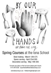 Iona Land workshops spring 2016